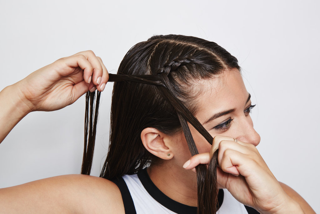 how to do double dutch braids on yourself popsugar beauty