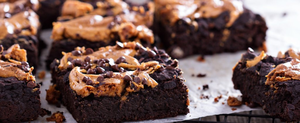 Totally Addictive Peanut Butter Espresso Brownies