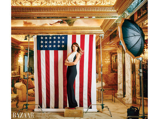 Melania Trump Defends Husband Donald In Glamorous At Home Shoot: 'America Needs Him'