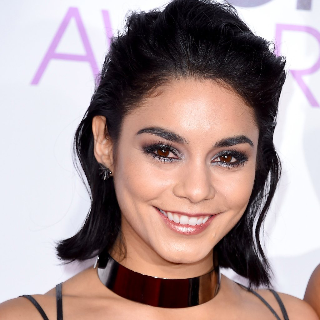 Vanessa Hudgens Hair and Makeup People's Choice Awards ... Vanessa Hudgens