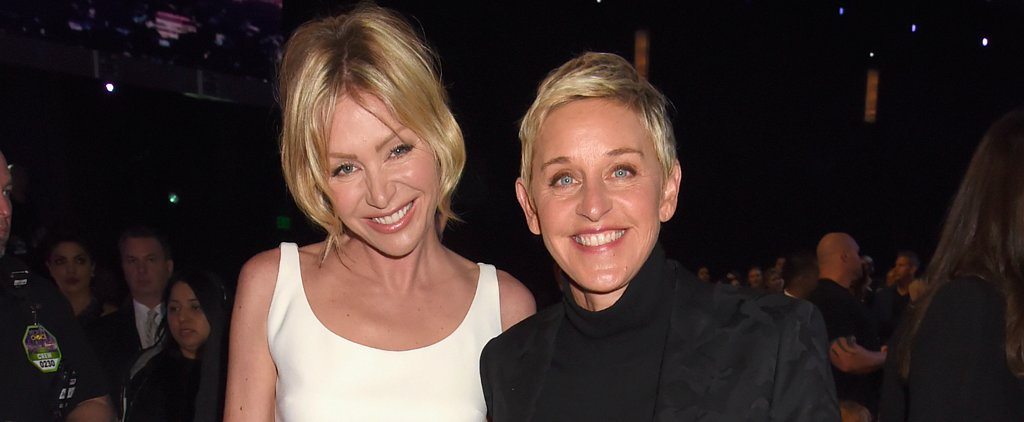 Ellen and Portia Were Two Peas in a Pod at the People's Choice Awards
