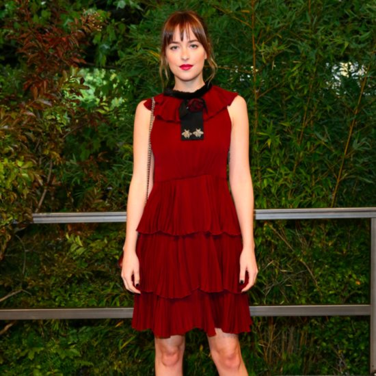 Dakota Johnson People's Choice Awards Speech 2016