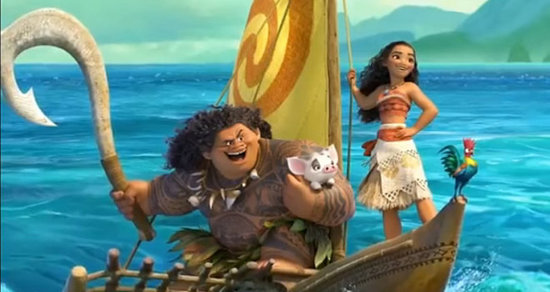 Disney Shares First Glimpse of 'Moana' Footage