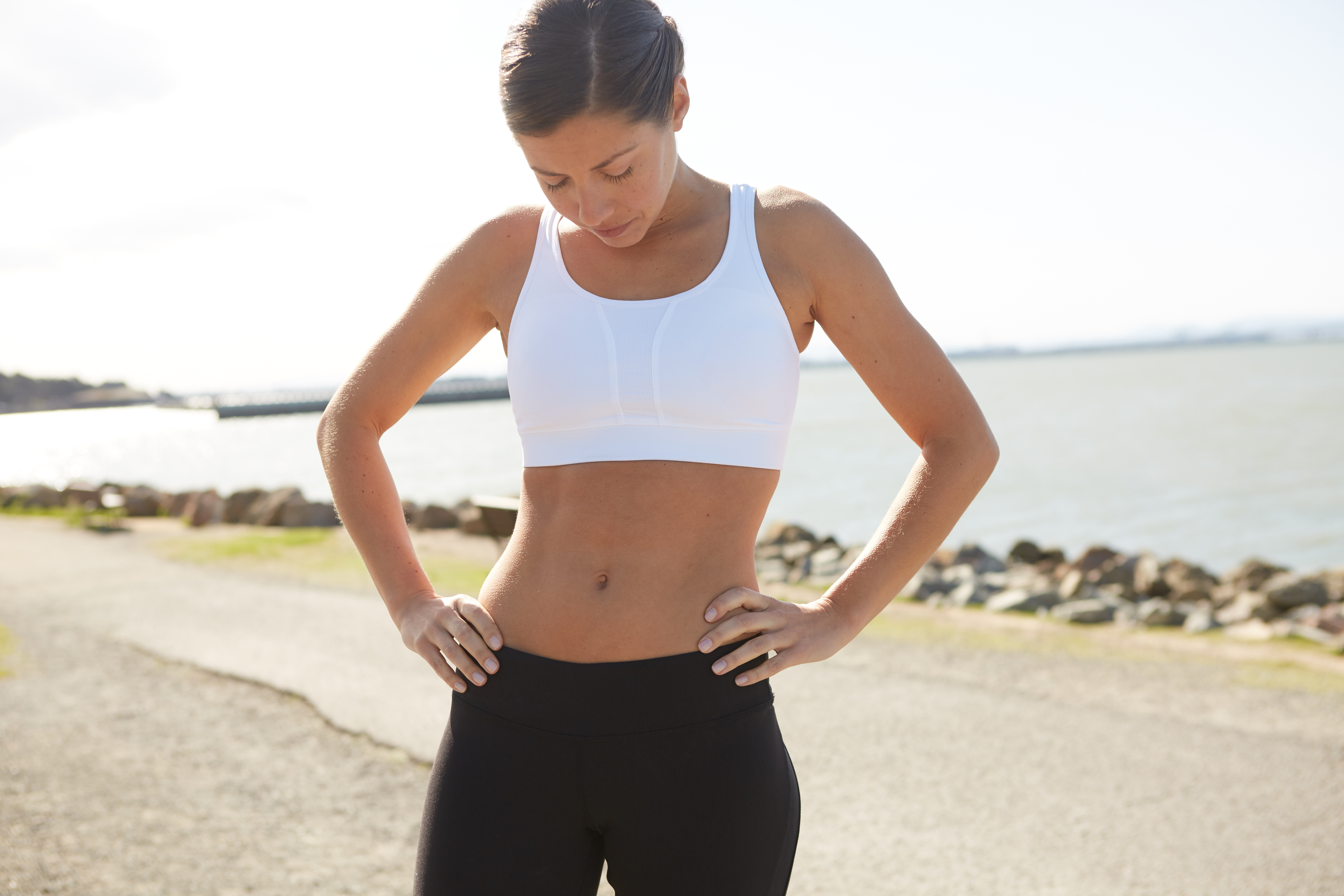 Flatten Your Abs Anywhere, Anytime With This Simple Move