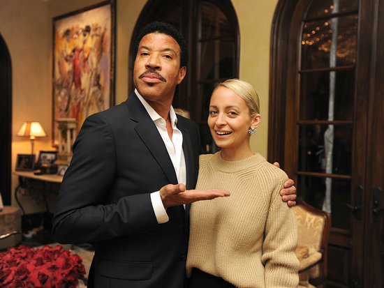 Nicole Richie and Joel Madden Support Dad Lionel Richie at an Intimate Party Celebrating His Home Collection Launch