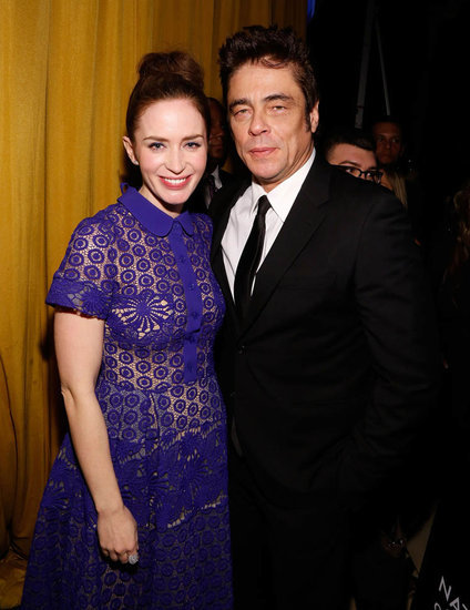 Emily Blunt and Benicio Del Toro at the National Board of Review for Sicario