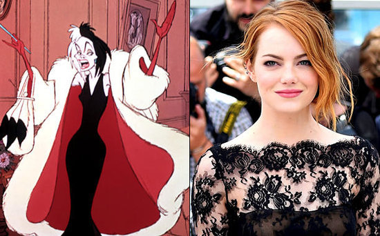 FROM EW: Emma Stone in Talks to Play Cruella de Vil in Disney Origin Movie