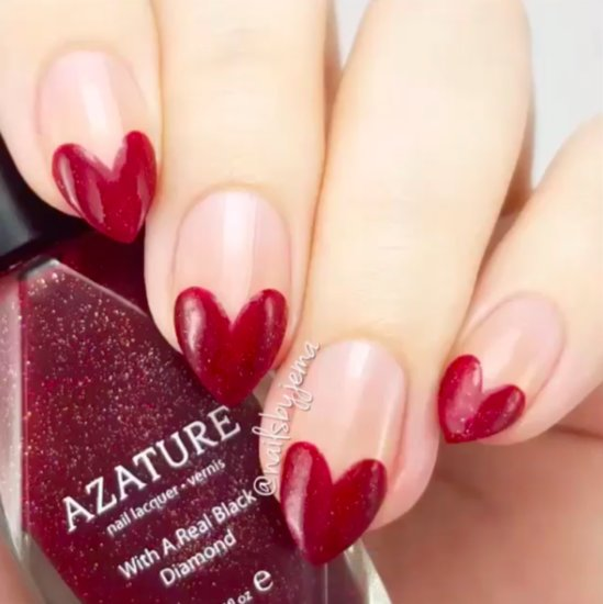 Valentine's Day Nail Art Tutorials From Instagram