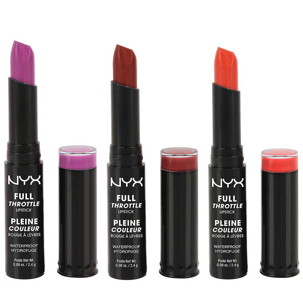NYX Full Throttle Lipstick | 35 Standout Drugstore ...  NYX Full Thrott...