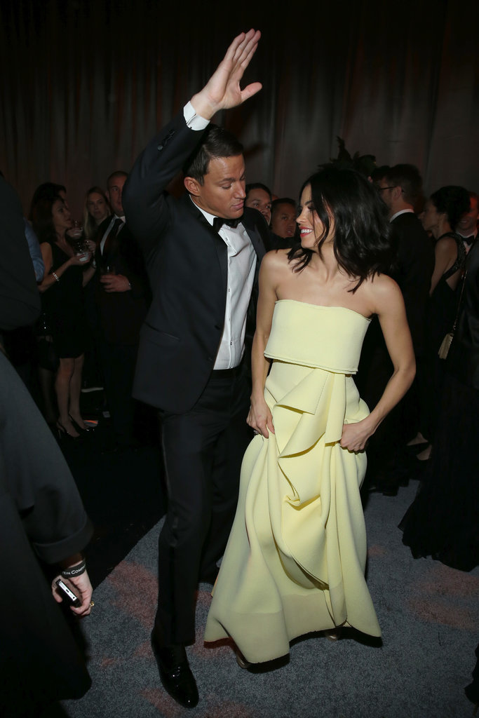 Jenna Dewan and Channing Tatum busted out some serious moves at a 2015 after party.