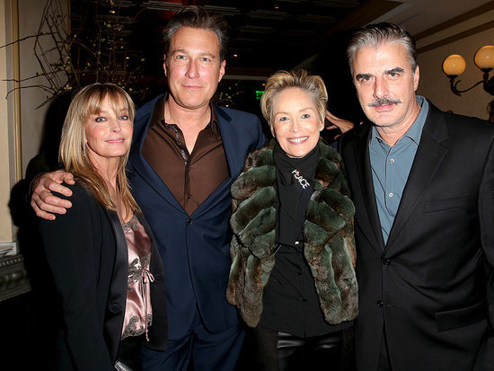 Chris Noth and John Corbett Have an Impromptu Sex and the City Reunion, but Where's Carrie?