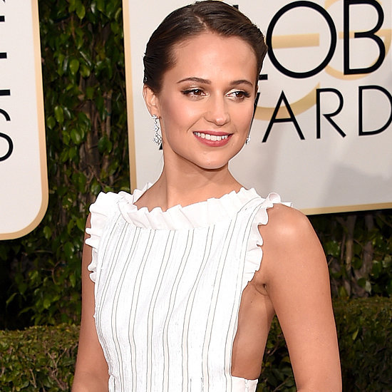 Alicia Vikander's Dress at Golden Globe Awards 2016