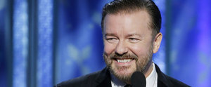 Ricky Gervais Really, Really Went There With His Caitlyn Jenner Joke at the Globes