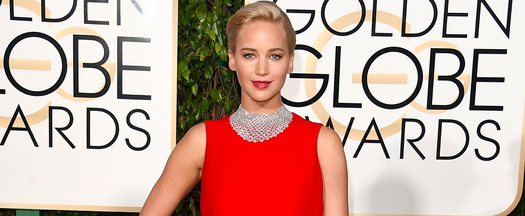 "Jennifer Lawrence Brings New Meaning to ""Girl on Fire"" at the Golden Globes"