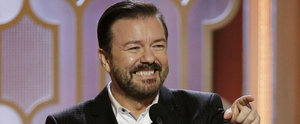 Ricky Gervais' Best Jokes and Burns From the Golden Globes