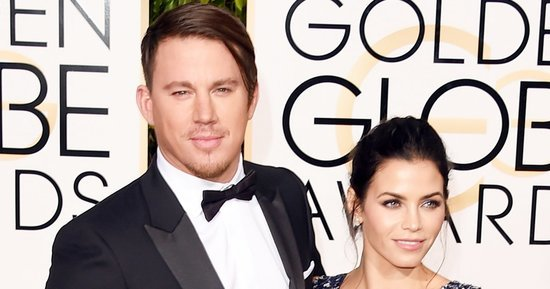 Channing Tatum's Golden Globes 2016 Hair Looks Like Charlie's Angel's Thin Man -- Twitter Reactions