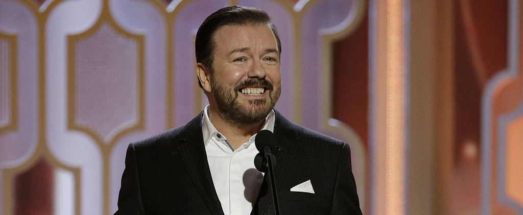 Relive Every Dirty Joke From Ricky Gervais's Hilarious Opening Monologue
