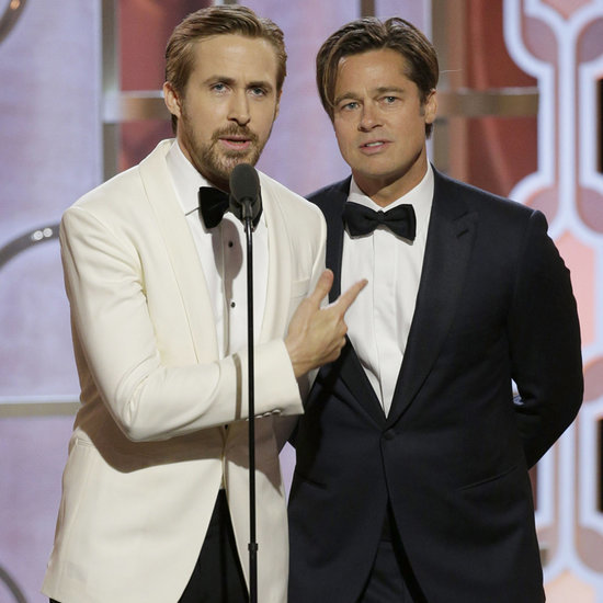 Ryan Gosling and Brad Pitt's Speech at Golden Globes 2016