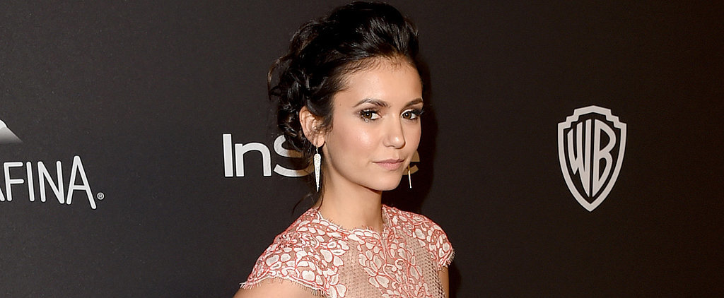 Former Couple Ian Somerhalder and Nina Dobrev Reunited at a Golden Globes After-Party