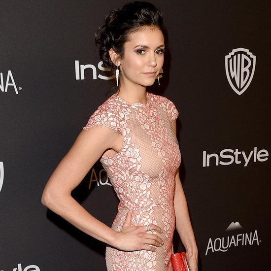 Nina Dobrev at Golden Globes After-Party 2016