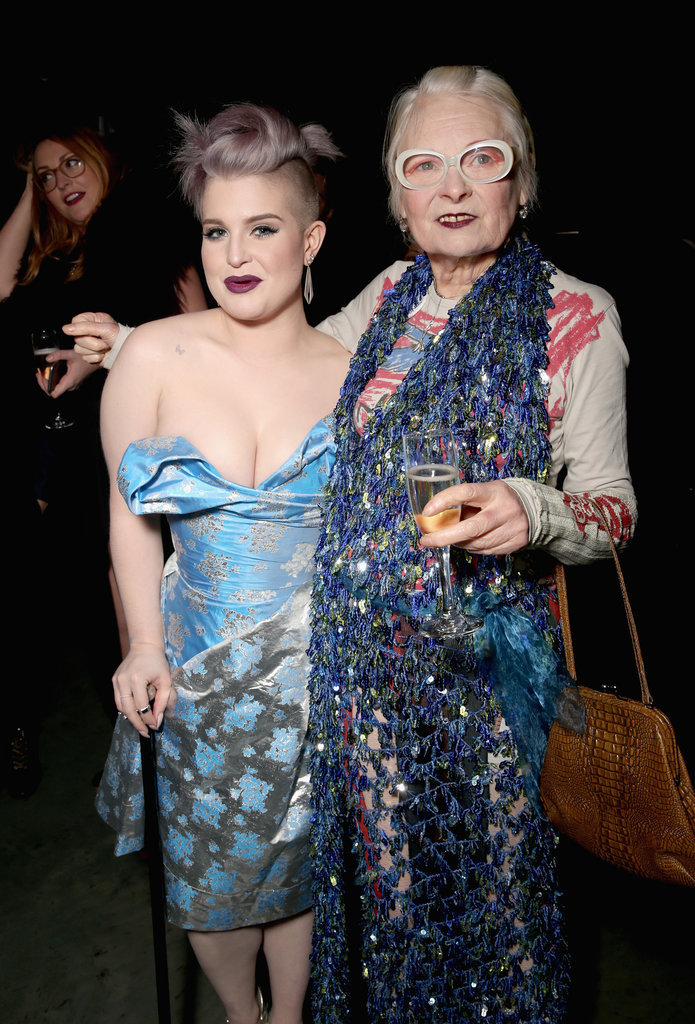 Pictured: Kelly Osbourne and Vivienne Westwood