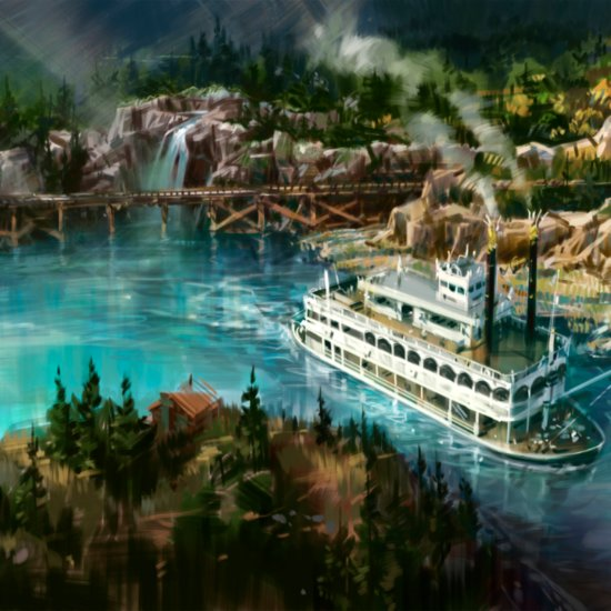Disneyland's New Concept Art 2016