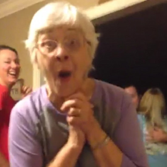 Grandma Finding Out Granddaughter Is Pregnant With Triplets