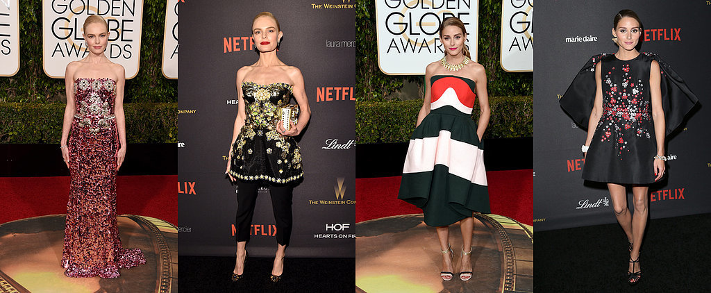 The Sexiest Outfit Swaps From the Golden Globes