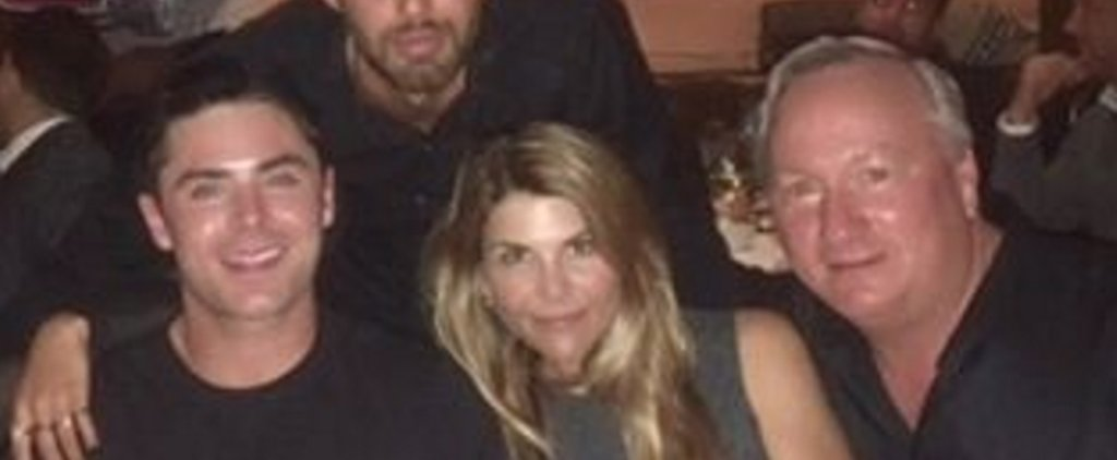 Lori Loughlin Skips Dinner and Goes Straight For Dessert During an Outing With Zac Efron