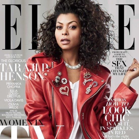 Elle Magazine Women in TV 2016 Covers