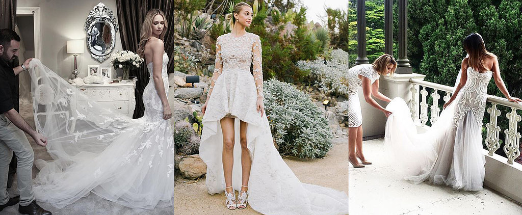 Fit For an It Girl: The Wedding Dresses Chosen by Fashion Insiders