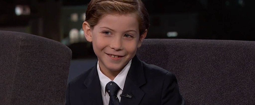 Room Star Jacob Tremblay Is Well Aware of How Adorable He Is