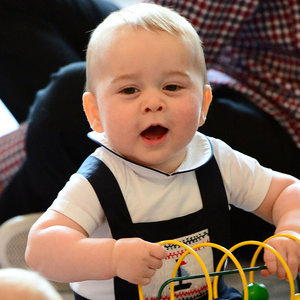Cute Pictures of Prince George