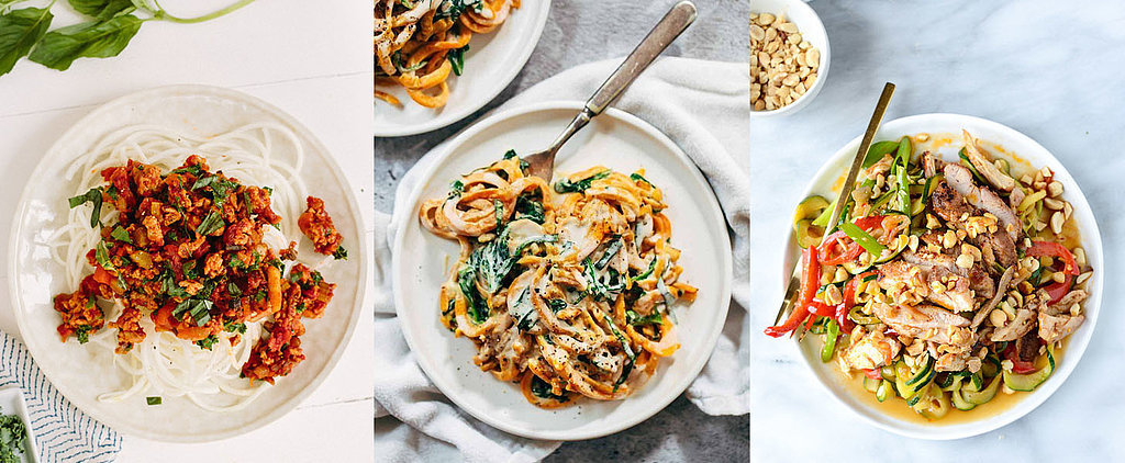 20 Spiralizer Recipes to Help You Keep Your Diet Clean in 2016