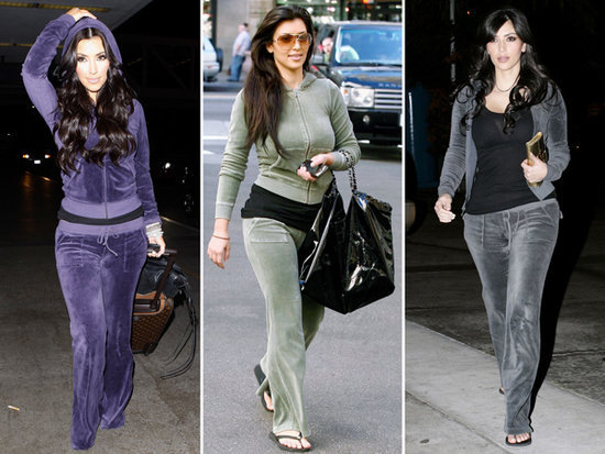 An Ode to Kim Kardashian and Her Beloved Juicy Couture Velour Tracksuits