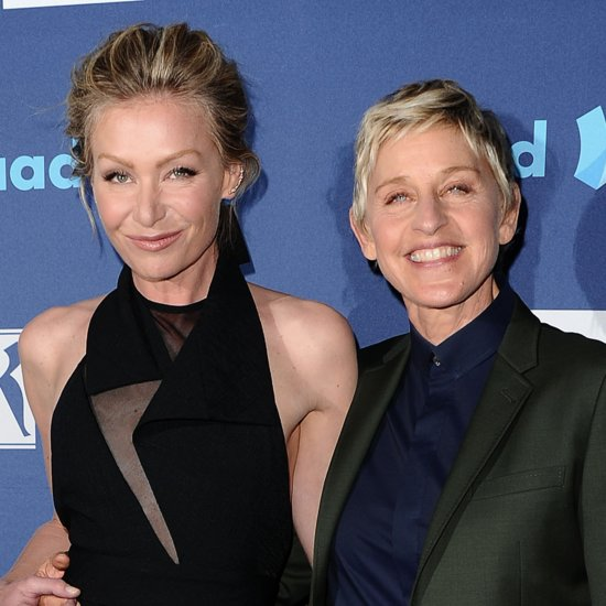 Cute Ellen DeGeneres and Portia de Rossi Pictures | POPSUGAR Celebrity ...