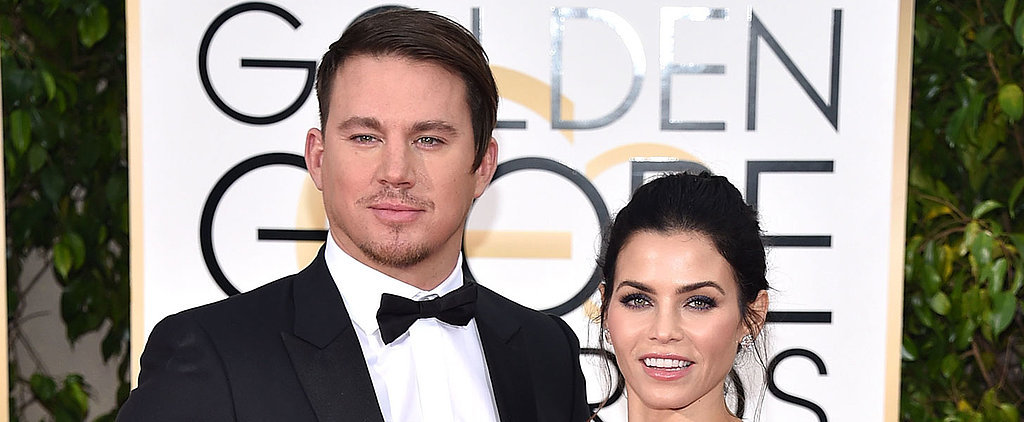 These Celebrity Couples Amped Up the PDA at the Golden Globe Awards