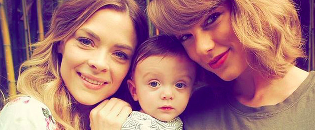Taylor Swift Bonds With Her Adorable Godson to Celebrate His 6-Month Birthday