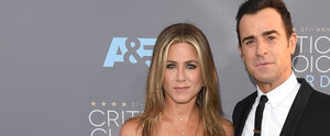 Jennifer Aniston and Justin Theroux Smoulder Through the Critics' Choice Red Carpet