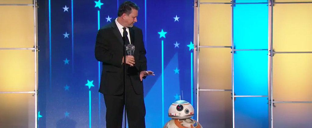 Watch Your Favourite Star Wars Character Make a Surprise Appearance at the Critics' Choice Awards