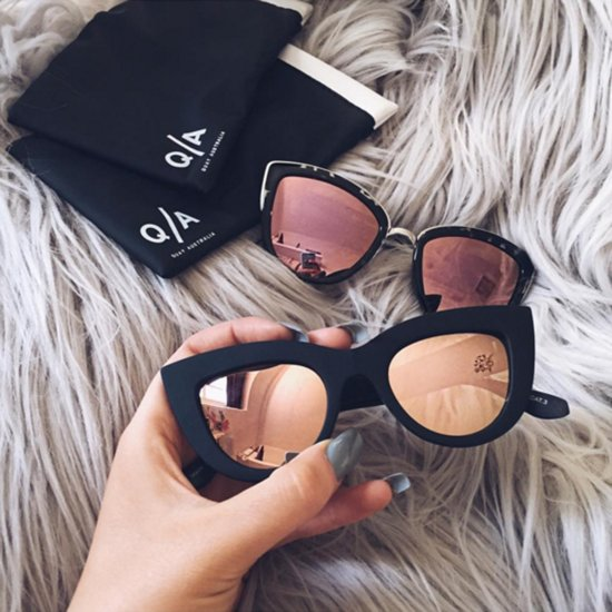 Lustworthy: Gold Sunglasses