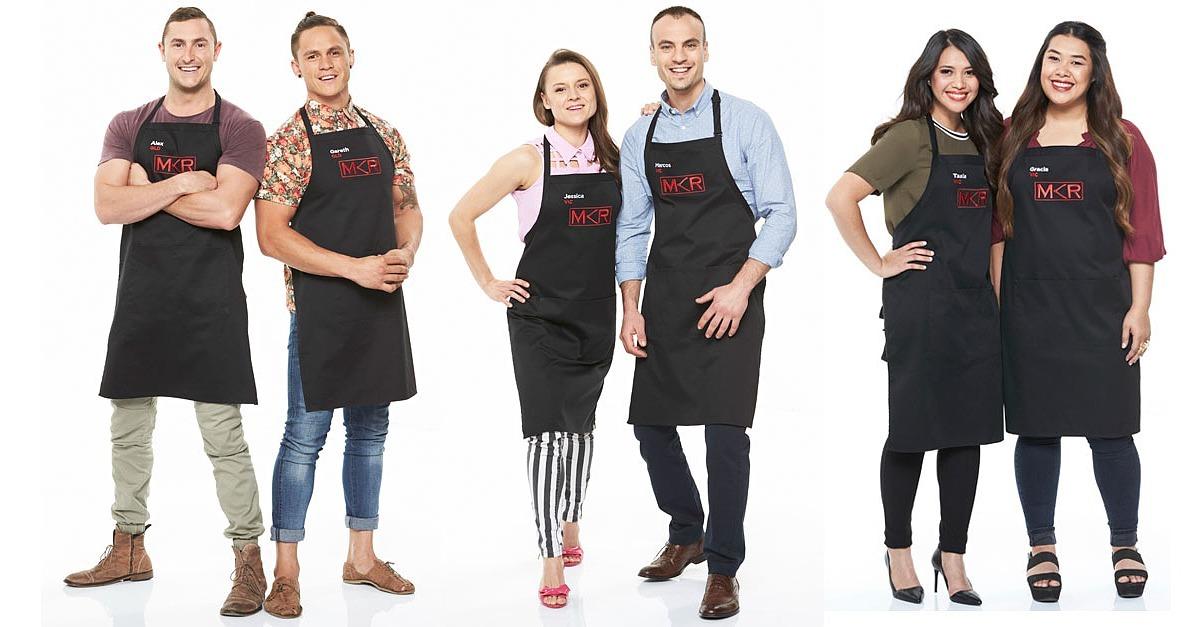 My kitchen rules 2016 meet the contestants popsugar for Y kitchen rules contestants