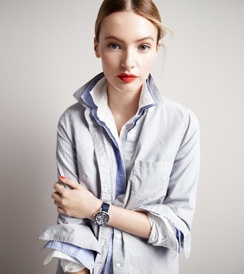 J.Crew's Layered Collar Trend