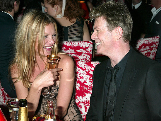 Kate Moss Honors David Bowie with a Fabulous Ziggy Stardust-Inspired Birthday Outfit