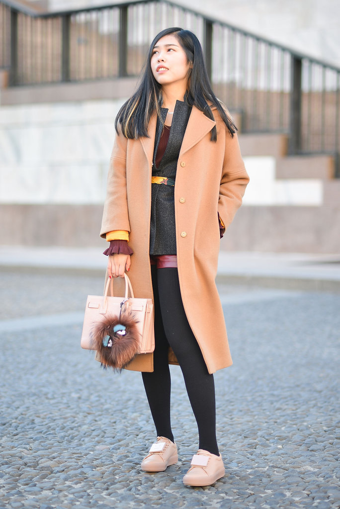 Match your shoes to your coat to your bag, and your look just got a lot more noteworthy.