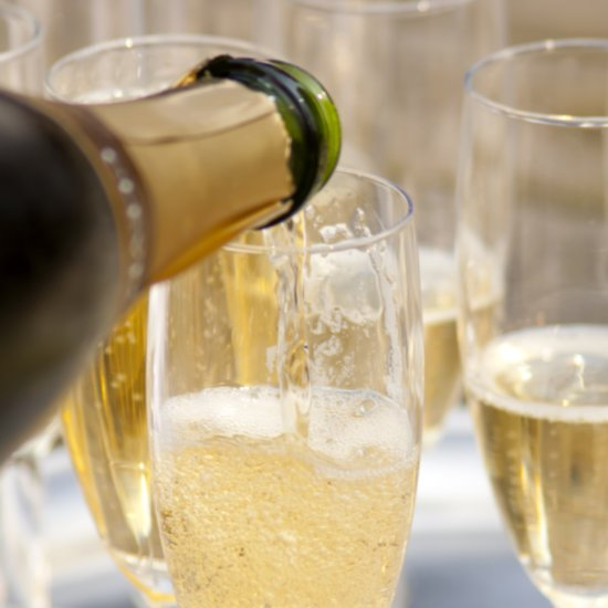 This Champagne Hack Is the Ultimate Party Trick