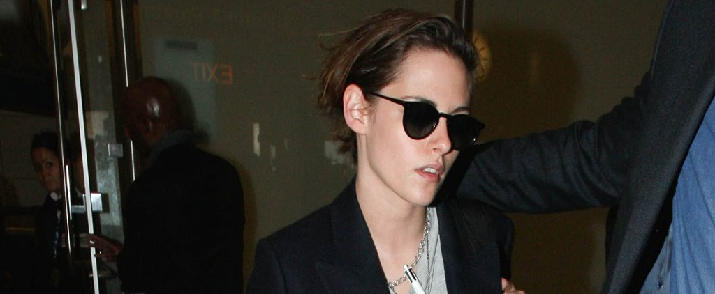 Kristen Stewart Still Manages to Look Cool Even After Flying