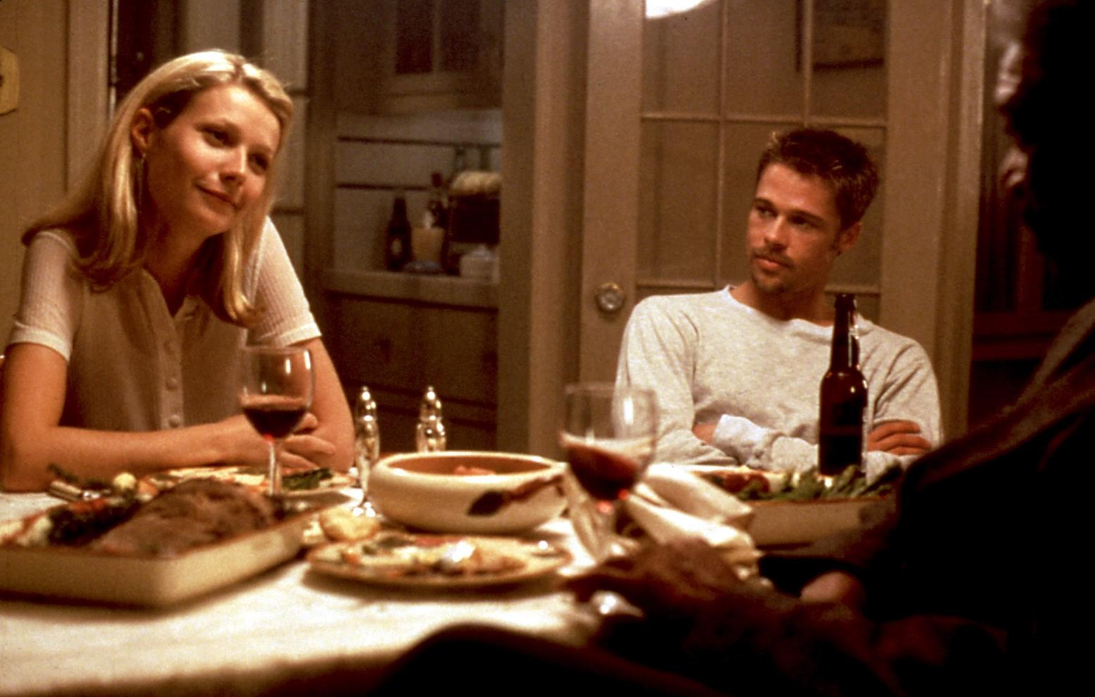 Gwyneth Paltrow and Brad Pitt, Seven