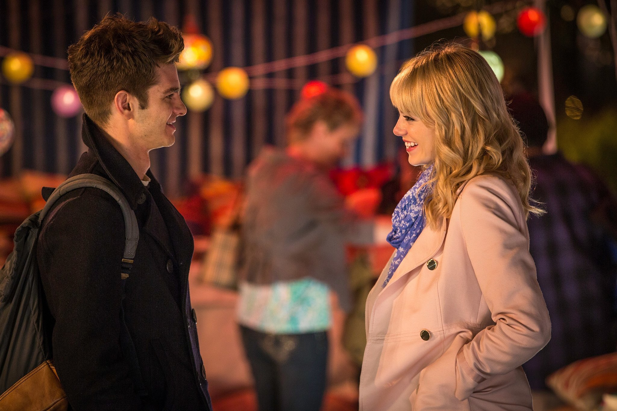 Andrew Garfield and Emma Stone, The Amazing Spider-Man 2