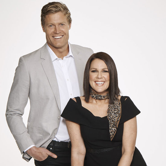 I'm a Celebrity Interview With Julia Morris and Chris Brown